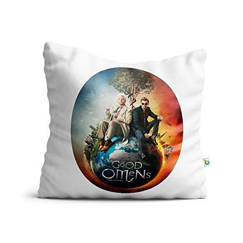 Almofada Good Omens Logo