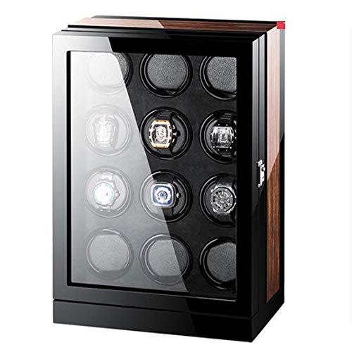 KY Uhrenbeweger Premium-Uhren für Caja para (kapazidad para 8-24, 4 Programas De Rotación, Motor Silencioso,) (Farbe : 12)
