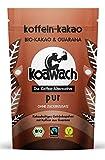 koawach Pur Kakaopulver mit Koffein aus Guarana ohne Zucker Wachmacher Kakao - Bio, vegan und Fair Trade (500g) - Neues Design