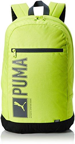 PUMA Uni Pioneer Backpack I Rucksack, Limepunch, 19.5 x 3.9 x 46 cm, 25 Liter