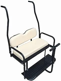 golf cart rear seat folding step