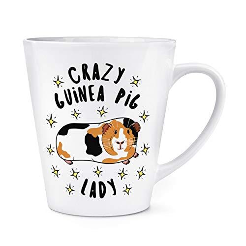 Crazy cochon d'Inde LADY étoiles 12oz Latte TASSE MUG