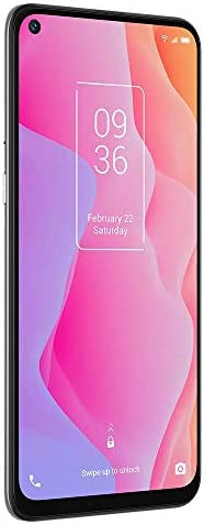 """TCL 10L, Unlocked Android Smartphone with 6.53"""" FHD + LCD Display, 48MP Quad Rear Camera System, 64GB+6GB RAM, 4000mAh Battery - Arctic White (Renewed) WeeklyReviewer"""
