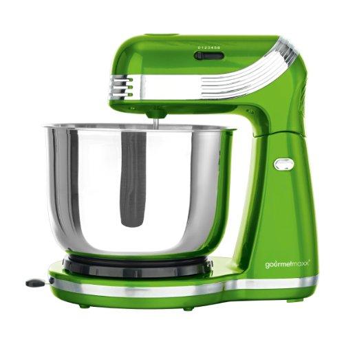 TV unser Original 05291 gourmetmaxx Classico - Robot da cucina, colore: Verde lime metallizzato
