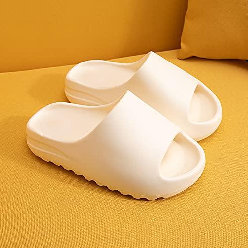 WEIXINMWP Duschsäule Hausschuhe Schnell trocknend Badezimmer Hausschuhe Super weiche Sohle Open Toe Haus Hausschuhe für Männer Frauen,1,42/43