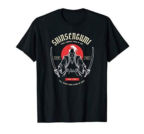 Shinsengumi Shoguns Samurai Miliz klassisches Kampfkunst MMA T-Shirt
