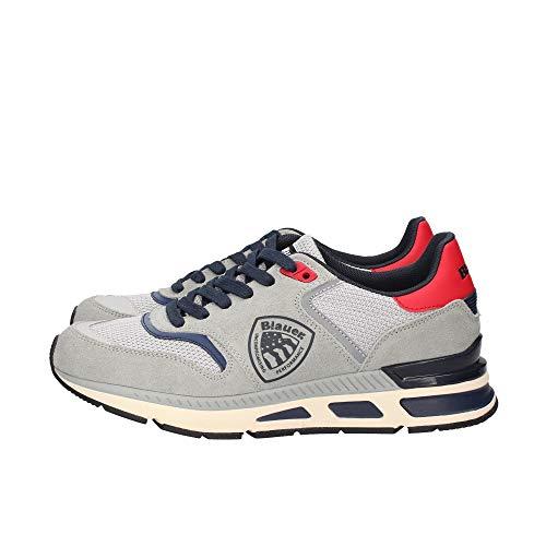Blauer S1HILO01/SME - Zapatillas deportivas para hombre Gris Size: 45 EU