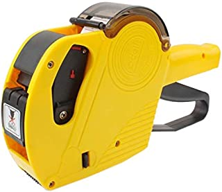 Packing Supplies High Performance Handheld 8 Digits Price Labeller, Yellow Label Tape (Color : Yellow)