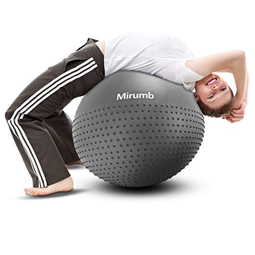 Pelota De Pilates Gris marca Mirumb