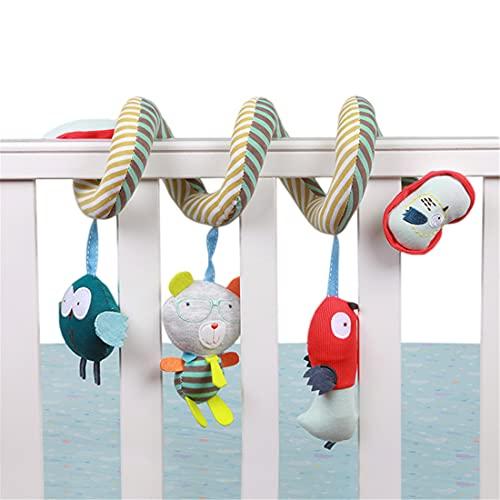 XJST Juguetes Infantiles De PRAM Moderno, Más Fácil, Mantiene A Su Bebé Feliz, Regalo Ideal, con Ratones Colgantes De Juguete Interactivo Suave