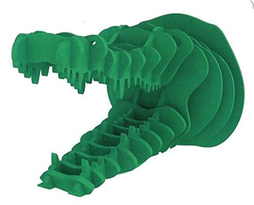 Puzzle 3D Design Trophée Crocodile Vert
