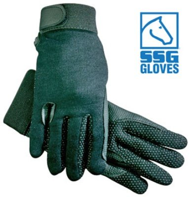 SSG Fleece Lined Gripper Gloves Medium