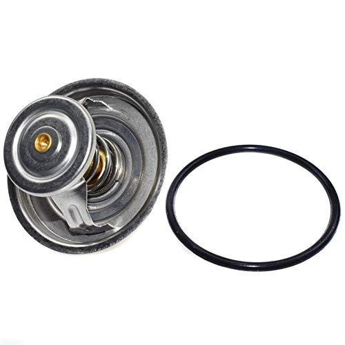 HCO-YU Enfoque del termostato del refrigerante del motor para BMW E34 E36 E38 E39 323I 328i 525i 318is 325i 520i Z3 11537511083 11531733803 11531721002 11531721002 Casas de termostato