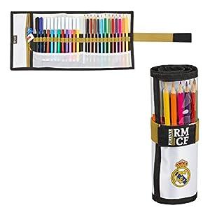 Real Madrid C.F. 411954786, Real Madrid 19/20 Estuche enrrollable para Niños, Varios, 7×20