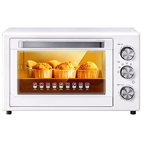 JUULLN Horno de tostadora, 32L Hornos eléctricos Pizza Horno de cocción Horno de cocción de microondas Air Grill Estufa Inteligente Control Estufa con Parrilla Halógeno Hornos