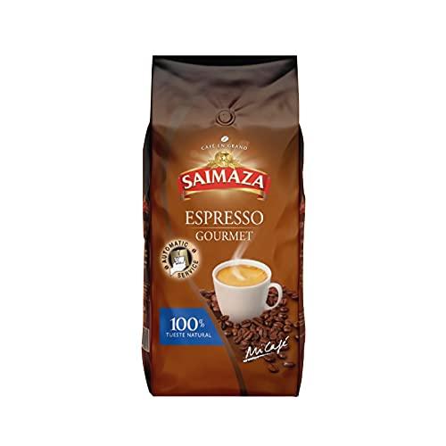 Saimaza Gourmet, café en grano, tueste 100% natural 1Kg en Atmósfera protectora.