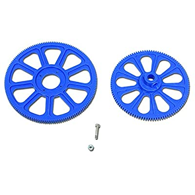 AKDSteel V450D03 V450D01 F450 RC Helicopter Spare Parts Main Gear Set Exquisite Toys for All Ages by AKDSteel