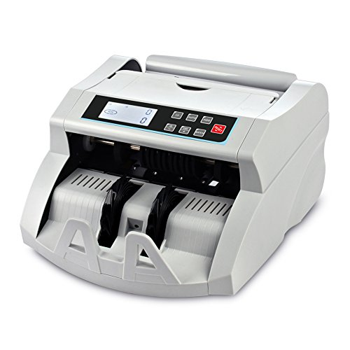 Money Counter DOMENS with UV/MG/IR/DD Counterfeit Bill Detection Suitable for Multi-Currency Cash Counting