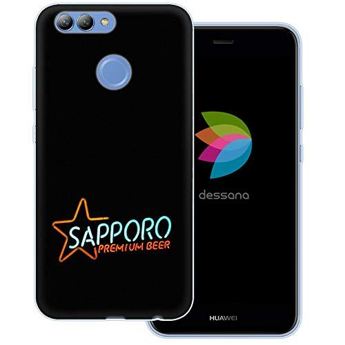 dessana Japan Sightseeing transparente Schutzhülle Handy Case Cover Tasche für Huawei Nova 2 Sapporo Bier