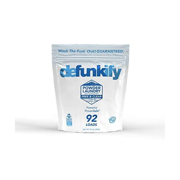 Defunkify Active Wash Laundry Detergent Powder