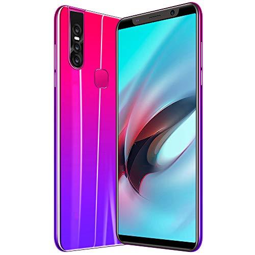 Smart Phone Teléfono Inteligente de 5,8 Pulgadas X27 Plus 2019, teléfono móvil Sonido, 4 GB de RAM, 64 GB de ROM se Puede Ampliar a 128 GB WiFi BT GPS