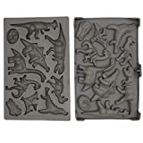 Dinosaur Silicone Gummy Mold - Mixed Patterns Chocolate Maker - Ice Tray Candy Mold