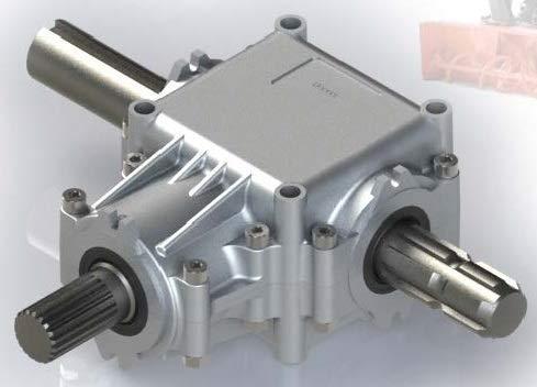 Boite d'engrenage en T/T-Shape Gearbox (Comer T-281 Equivalent) (T281)