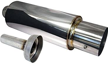 Fit 1990-1993 Acura Integra 2.5 Inch Stainless Steel Catback Exhaust System 4.5 Inch Muffler Tip