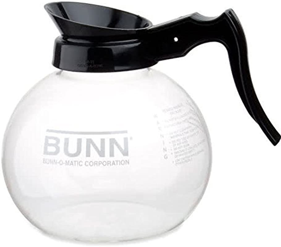 BUNN Easy Pour Replacement Decanter Simple Black