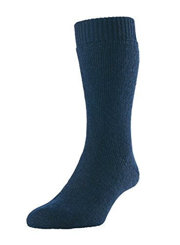 HJ Hall Damen Socken blau navy UK 10-12 (EUR 44-48)