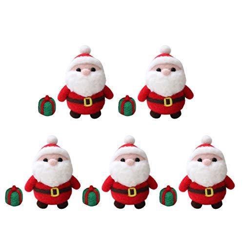 perfk Crochet Kit Fabrication Père Noel Débutant Tricot à Main Cadeau