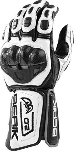BERIK G-10488-BK Handschuh schwarz/weiss XL