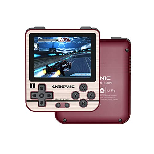 Sheuiossry RG280V Retro Mini Handheld Game Console Open Sourse System PS1Player...