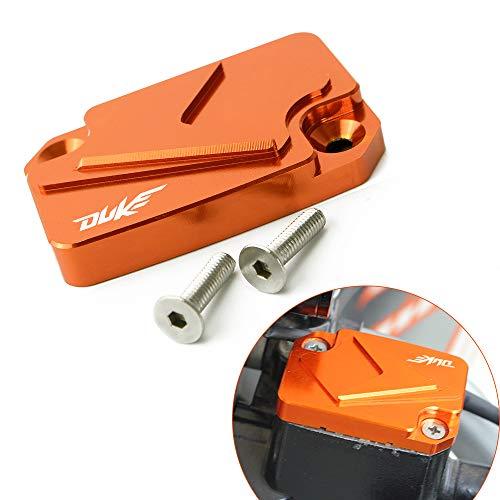 Motorrad Vorderer Bremsflüssigkeit Reservoir Tank Tankdeckel Cover Passend für K T M Duke 125 200 390 / RC125 200 RC390