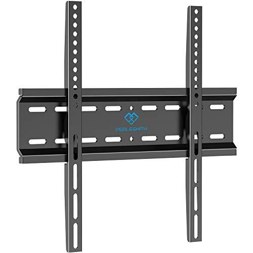 Supporto da Parete per TV per la Maggior Parte TV LED, LCD, OLED, Piatto e Curvo da 26-55 pollici - Staffa TV con Max VESA 400x400mm Peso fino a 50 kg