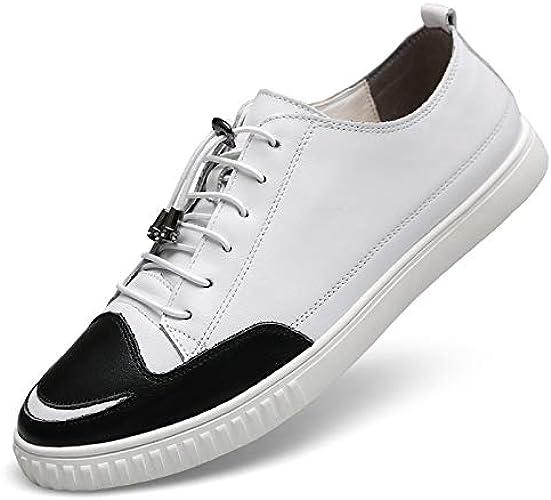 LOVDRAM Chaussures Hommes Spbague and Autumn Hommes's Décontracté chaussures cuir Hommes's chaussures