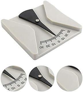 CCChaRLes 2Pcs Lunettes Angle Règle Outil De Mesure Protractor Angle Pantoscopique Mètre