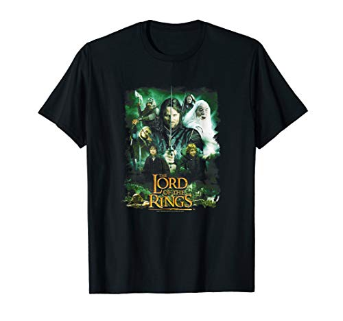 Lord of the Rings Hero Group T-Shirt