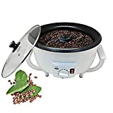 TongBF Electric Coffee Bean Roaster, 1200W Durable Household Coffee Beans Roasting Baking Machine