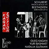 Oleg Kagan Edition Vol. 6: Streichtrios B-Dur / Serenade Op. 8 - Oleg Kagan