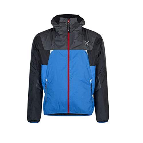 MONTURA SkiSky Jacket, gefütterte Jacke mit Kapuze für Herren, Montagna, MJAK92X, Mehrfarbig Small