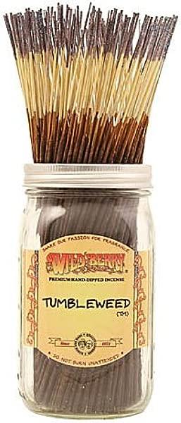 WILDBERRY 50 Incense 11 Sticks Tumbleweed