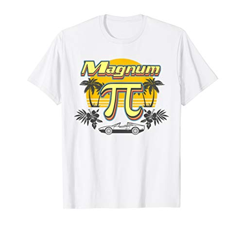 Magnum P.I. Sunset and Palms T-shirt, 3 Colours for Men and Women