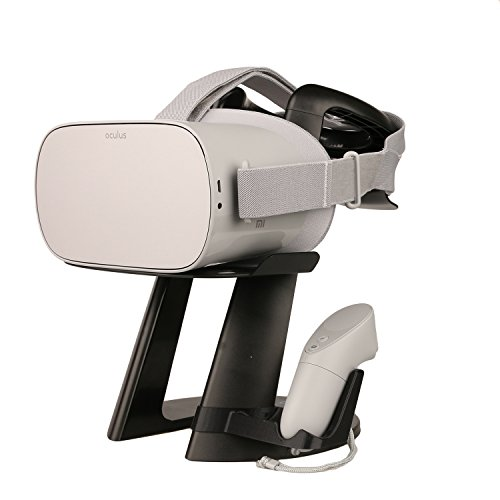AMVR VR Stand -Virtual Reality 3D Glass Headset Display Holder, VR Headset Station for Oculus Go Headset