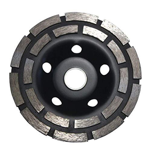Mingtongli Reemplazo de 125mm de doble hilera de pulido Copa rueda para el granito duro hormigón y materiales Diámetro disco duro material de molienda