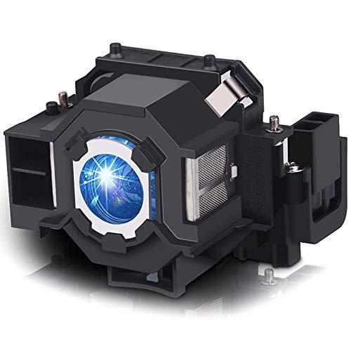Busirsiz Módulo de lámpara de proyector V13H010L41 Compatible with EMP-S5 EMP-S52 T5 EMP-X5 EMP-X52 EMP-S6 EMP-X6 EMP-822 EX90 EB-S6 ELPL41