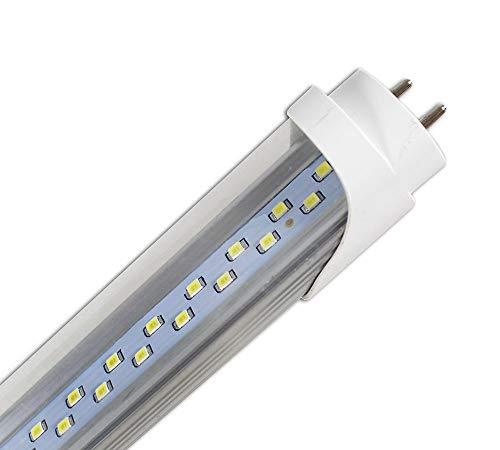 Vetrineinrete® Neon led smd attacco t8 g13 18 watt luce calda 3000k naturale 4200k bianca fredda 6500k tubo 220v 120 cm (Luce naturale 4200k) P38