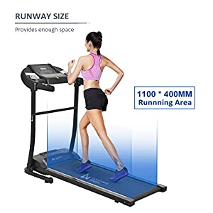 Ultrapower Sports Folding Treadmill - 12 Auto programs
