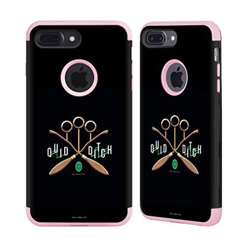 Officiële Harry Potter Zwerkbal Ring Goblet Van Vuur II Light Pink Guardian Case Compatibel voor Apple iPhone 7 Plus/iPhone 8 Plus