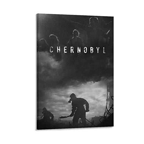 DRAGON VINES Póster de la película trágica de Chernobyl Art para decoración de pared, impresión HD, decoración moderna para el hogar o la oficina (60 x 90 cm)
